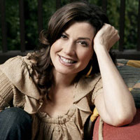 Top Christian music artist Amy Grant.